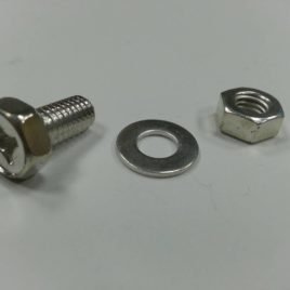 Hex head Bolt , washer, nut