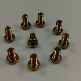 Pan Head Phil/Slot recess Machine Screw